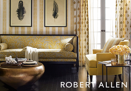 For More Than 75 Years, Robert Allen Has Been Serving The Residential And  Hospitality Design Community By Offering Premium Fabrics, Luxurious  Furnishings ...