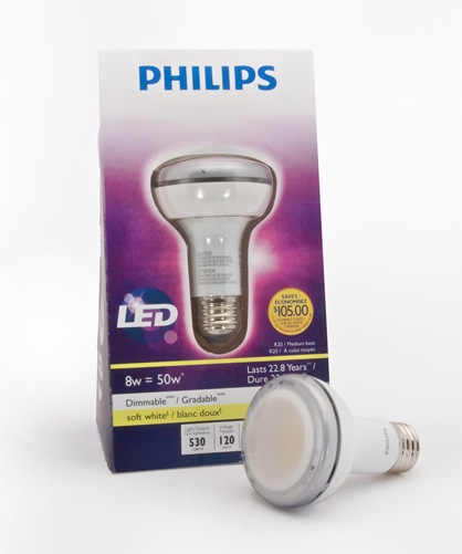Philips - LED 8W R20 Indoor Flood