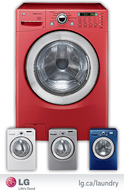 LG Truesteam Washers and Dryers
