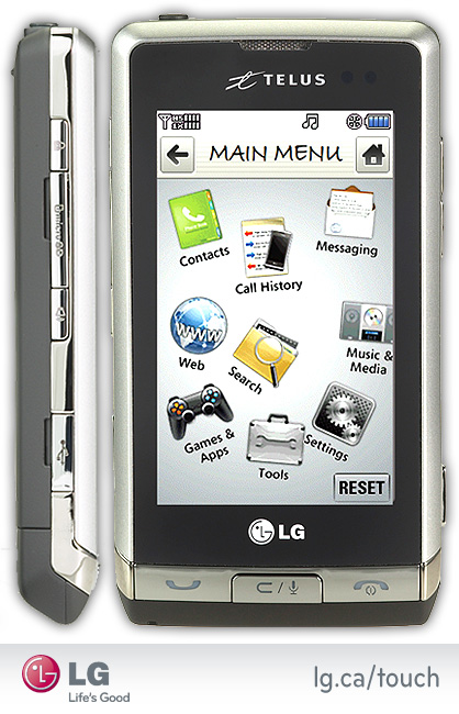LG Dare Touch Phone