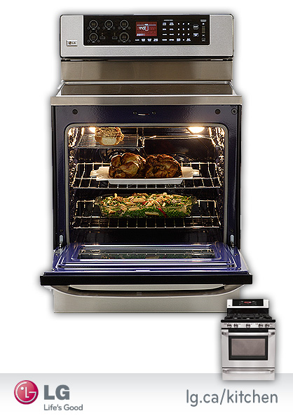 LG Ranges & Gas Stoves
